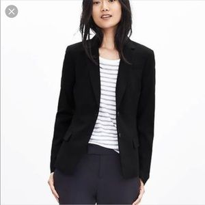 🌸Banana republic like new black blazer very nice!